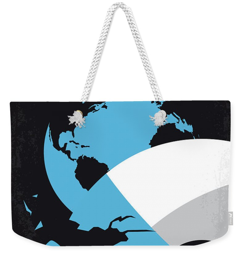 Apollo Weekender Tote Bag featuring the digital art No873 My Apollo 18 Minimal Movie Poster by Chungkong Art