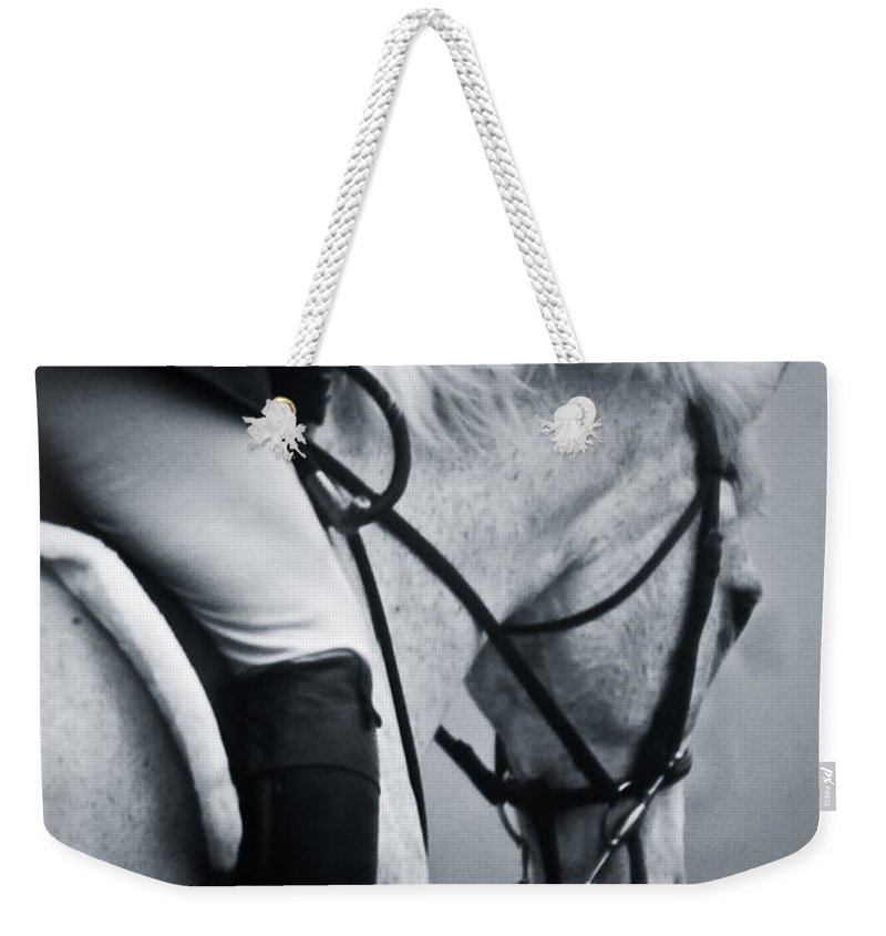 Horse Weekender Tote Bag featuring the photograph Nobility by Hannah Breidenbach