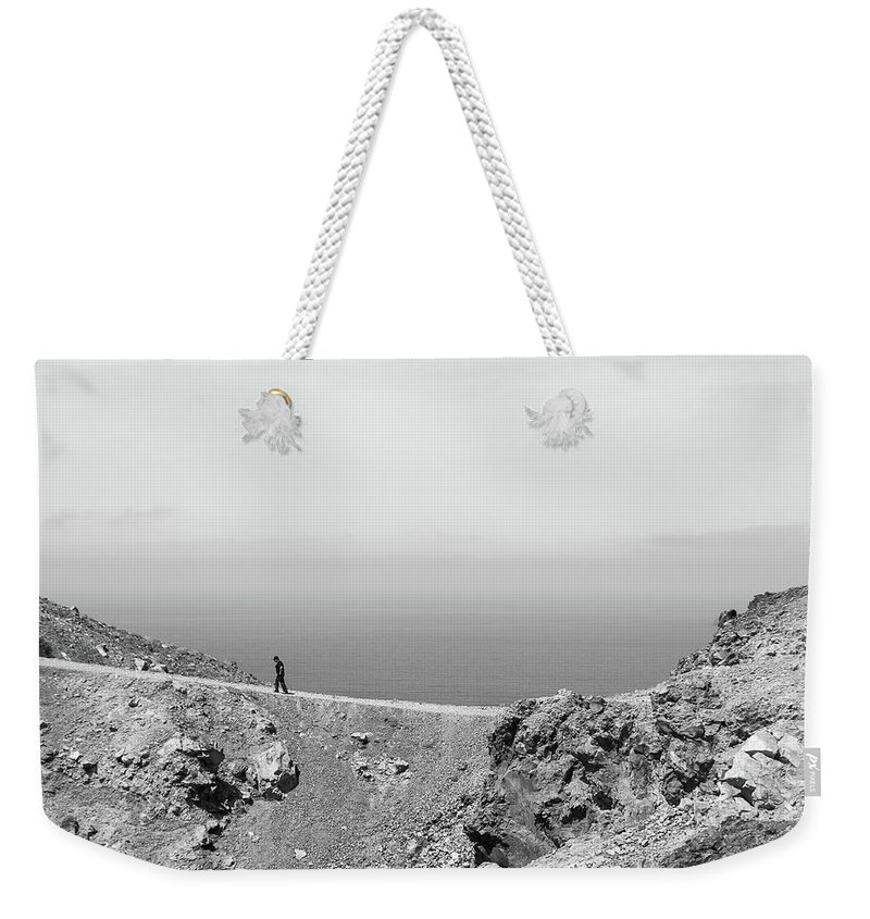 Nomad Weekender Tote Bag featuring the photograph Nomad by Debra Cox