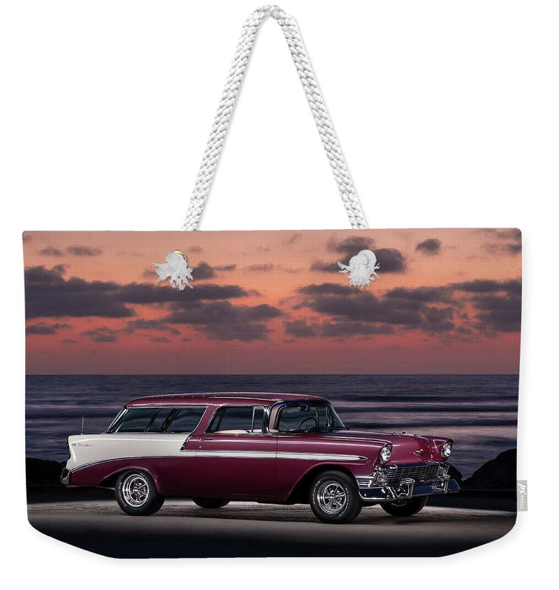 56 Weekender Tote Bag featuring the photograph Nomadic Surf by Creigh Photography