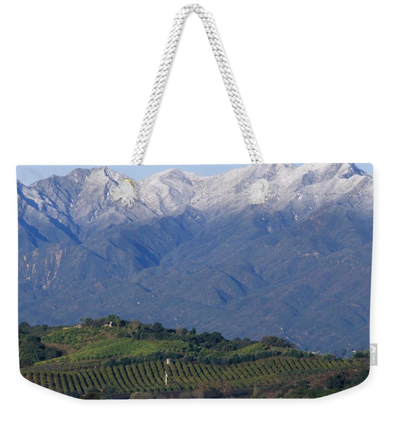 Nordhoff Ridge Weekender Tote Bag featuring the photograph Nordhoff Ridge by Soli Deo Gloria Wilderness And Wildlife Photography