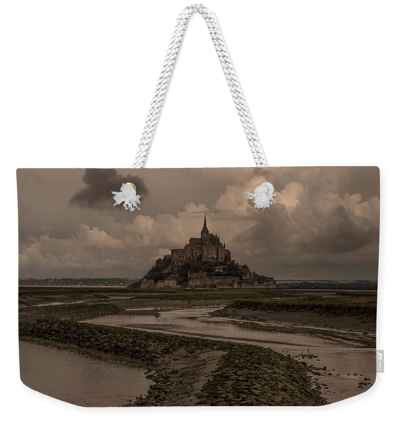 Normandy Weekender Tote Bag featuring the photograph Normandy Clouds by Marcel Van der Stroom