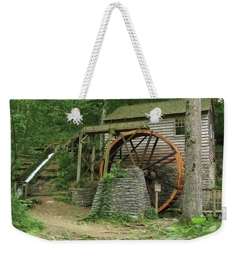 Grist Mill Weekender Tote Bag featuring the photograph Rice Grist Mill II by Douglas Stucky