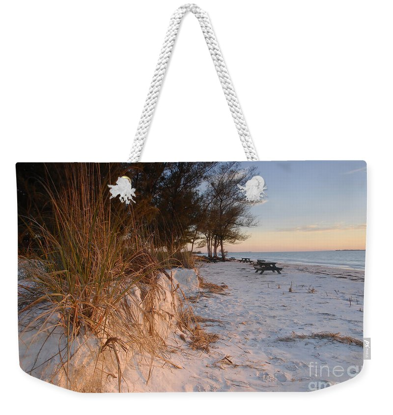 North Beach Weekender Tote Bag featuring the photograph North Beach by David Lee Thompson