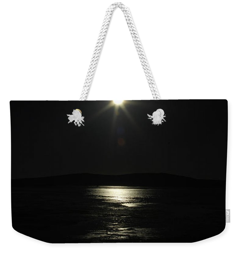 Star Weekender Tote Bag featuring the photograph North Star by Donna Blackhall