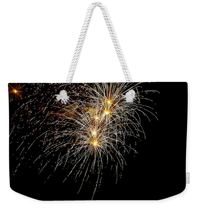 July 4th Weekender Tote Bag featuring the photograph Northern Star by Phill Doherty