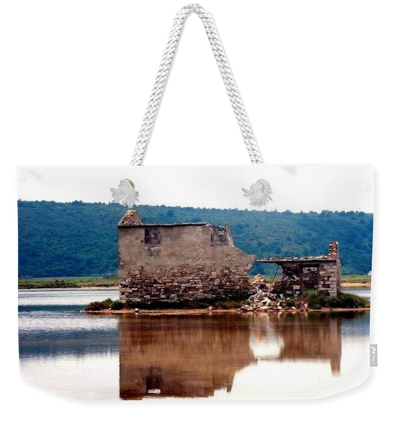 Saltpan Weekender Tote Bag featuring the photograph Nostalgia by Dragica Micki Fortuna