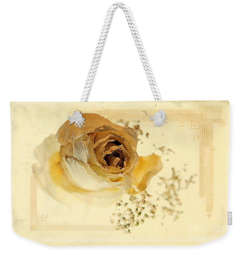 Nostalgia Weekender Tote Bag featuring the photograph Nostalgia by Lois Bryan