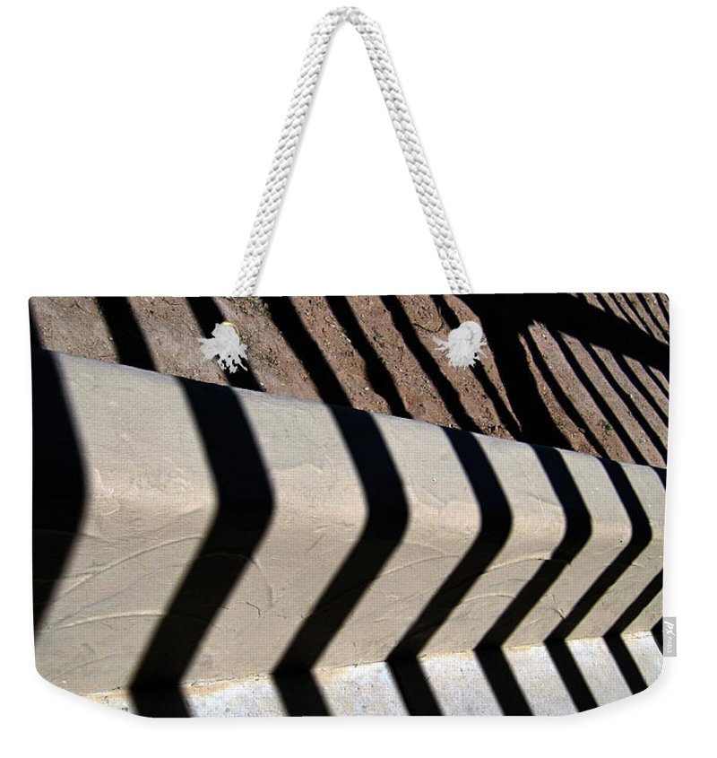 Photography Weekender Tote Bag featuring the photograph Not A Zebra by Susanne Van Hulst