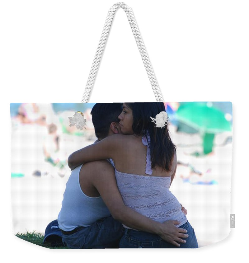 People Weekender Tote Bag featuring the photograph Not Married by Rob Hans