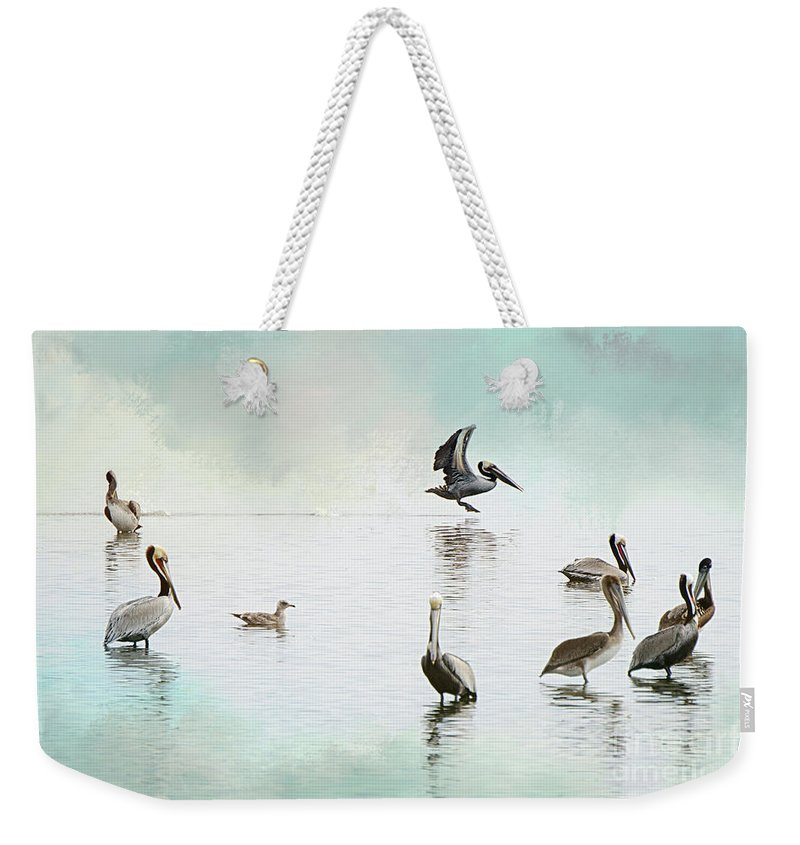 Nature Weekender Tote Bag featuring the photograph Nothing But Blue Skies by Norma Warden