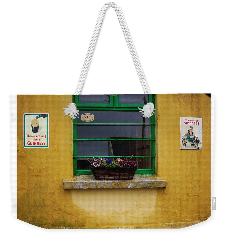 Ireland Weekender Tote Bag featuring the photograph Nothing Like A Guinness by Tim Nyberg
