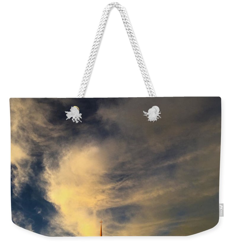 Sky Weekender Tote Bag featuring the photograph Now Overtaken by Mykel Davis