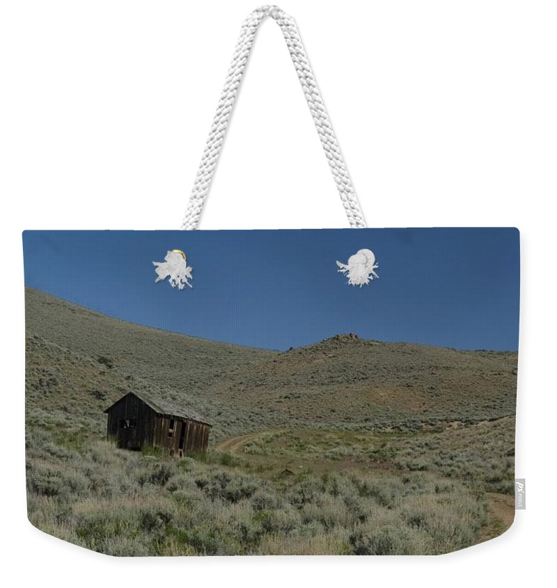 Shack Weekender Tote Bag featuring the photograph Nowhere by Sara Stevenson
