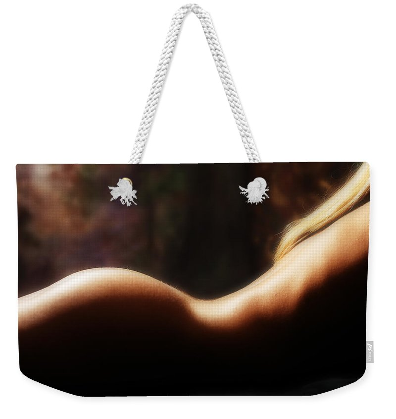 Nude Weekender Tote Bag featuring the photograph Nude 2 by Anthony Jones