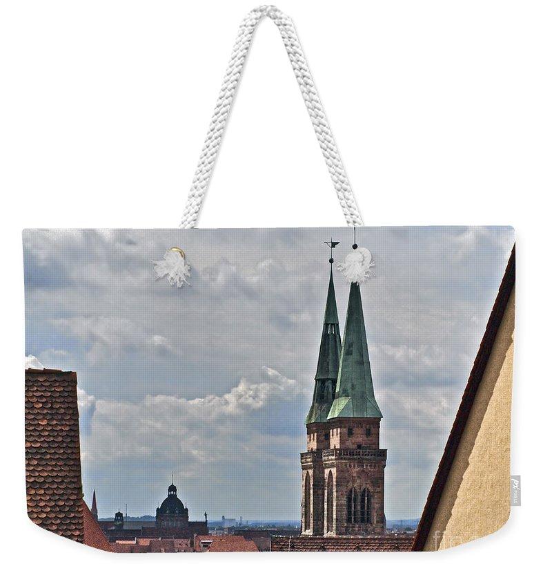 Nuremberg Weekender Tote Bag featuring the photograph Nuremberg Nbrg075 by Howard Stapleton