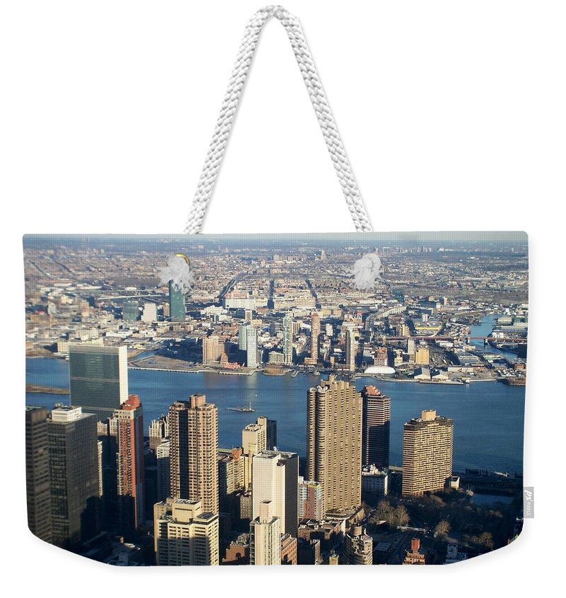 Nyc Weekender Tote Bag featuring the photograph Nyc 6 by Anita Burgermeister