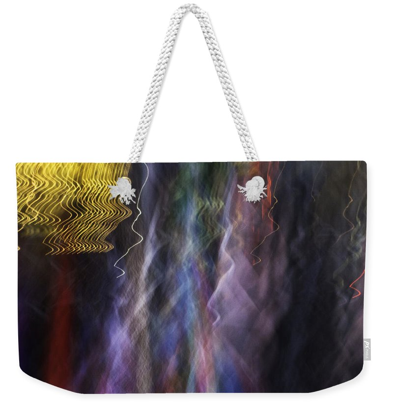Nyc Weekender Tote Bag featuring the photograph Nyc Impressions 2471 by Bob Neiman