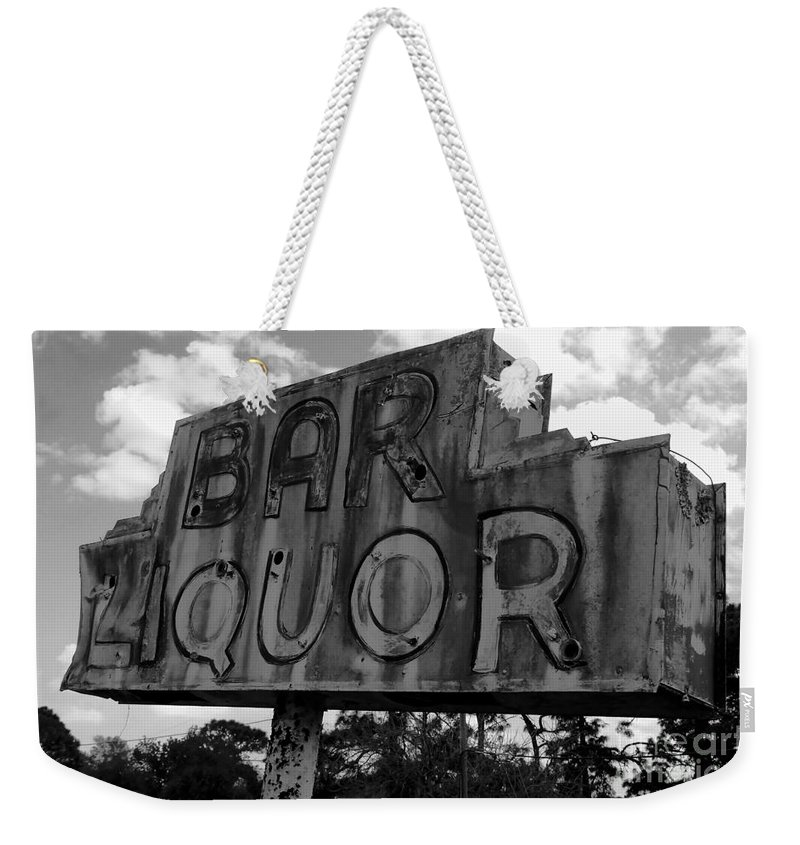 Bar Weekender Tote Bag featuring the photograph Oasis by David Lee Thompson