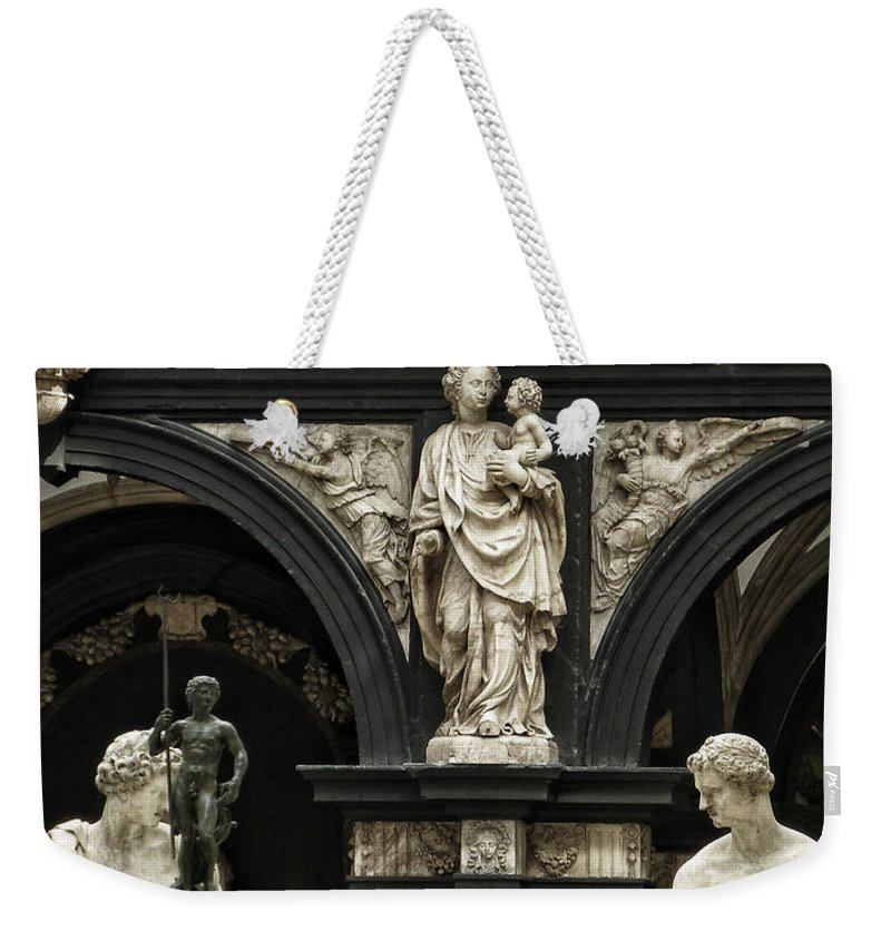 Victoria & Albert Museum Weekender Tote Bag featuring the photograph Objects Of Devotion by Connie Handscomb