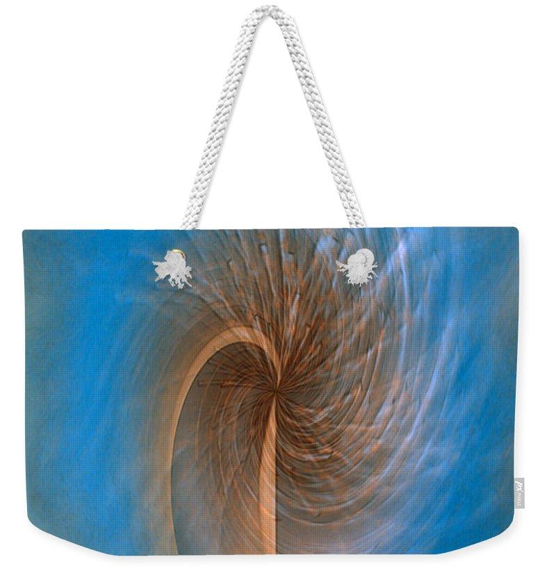 Ocean Breeze Art Weekender Tote Bag featuring the digital art Ocean Breeze by Linda Sannuti