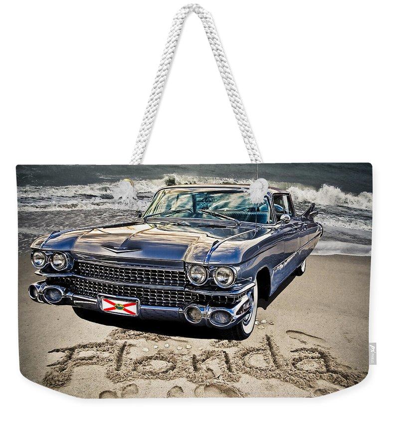 Cadillac Weekender Tote Bag featuring the photograph Ocean Drive by Joachim G Pinkawa