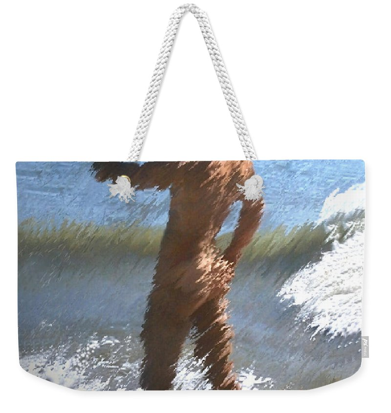 Nudes Weekender Tote Bag featuring the photograph Ocean Thoughts by Kurt Van Wagner