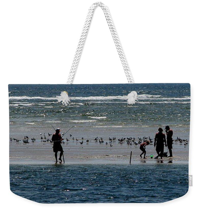 Atlantic Ocean Weekender Tote Bag featuring the photograph Ocean Way by Greg Patzer