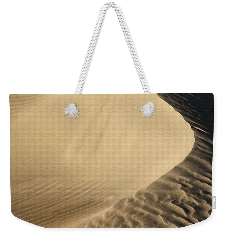 Sand Dunes Weekender Tote Bag featuring the photograph Oceano Dunes II by Sharon Foster