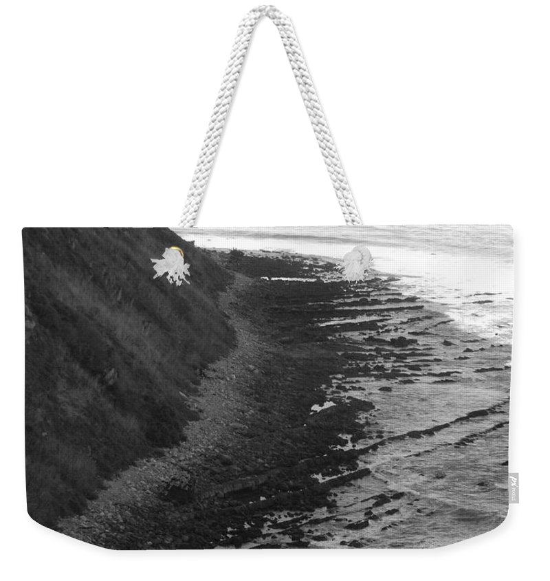 Beaches Weekender Tote Bag featuring the photograph Oceans Edge by Shari Chavira