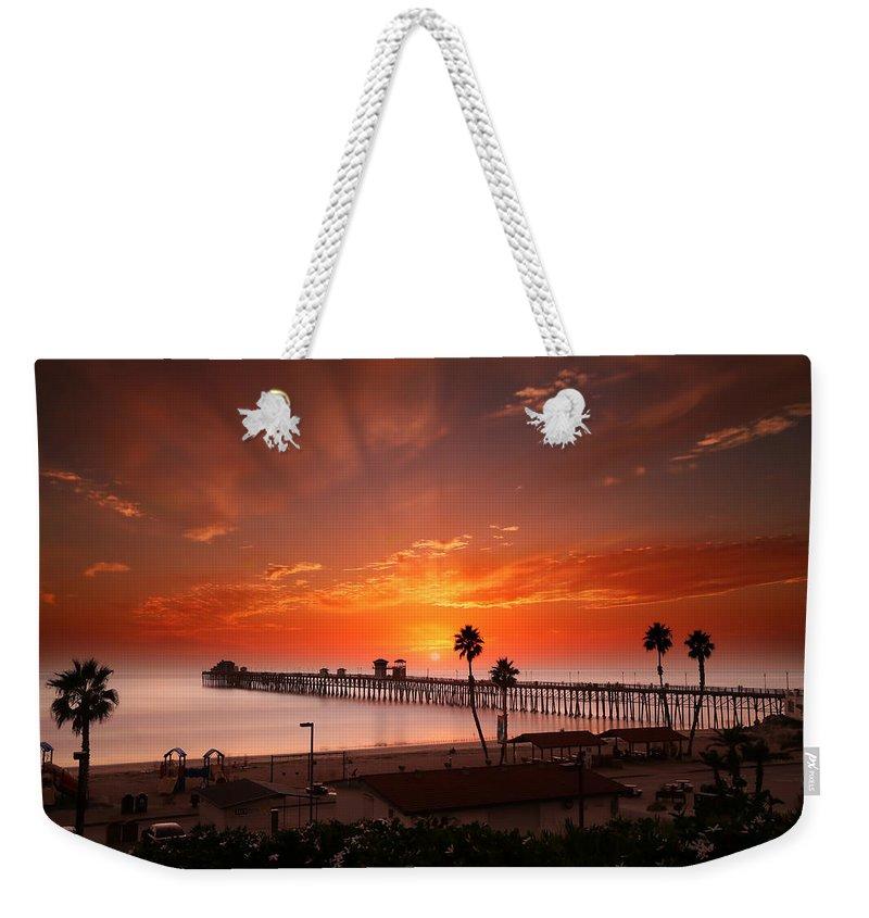 San Diego Weekender Tote Bags