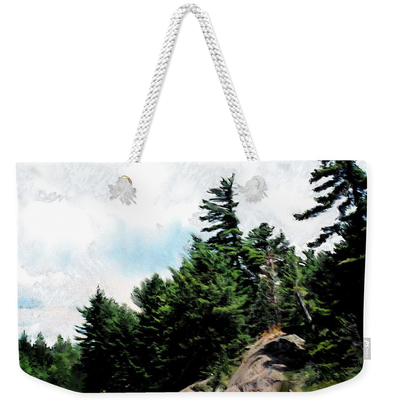 Northern Weekender Tote Bag featuring the digital art Of Summers Past by Ian MacDonald