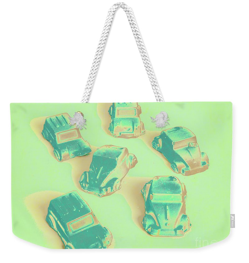 Rally Weekender Tote Bag featuring the photograph Off Road Retro Rally by Jorgo Photography - Wall Art Gallery