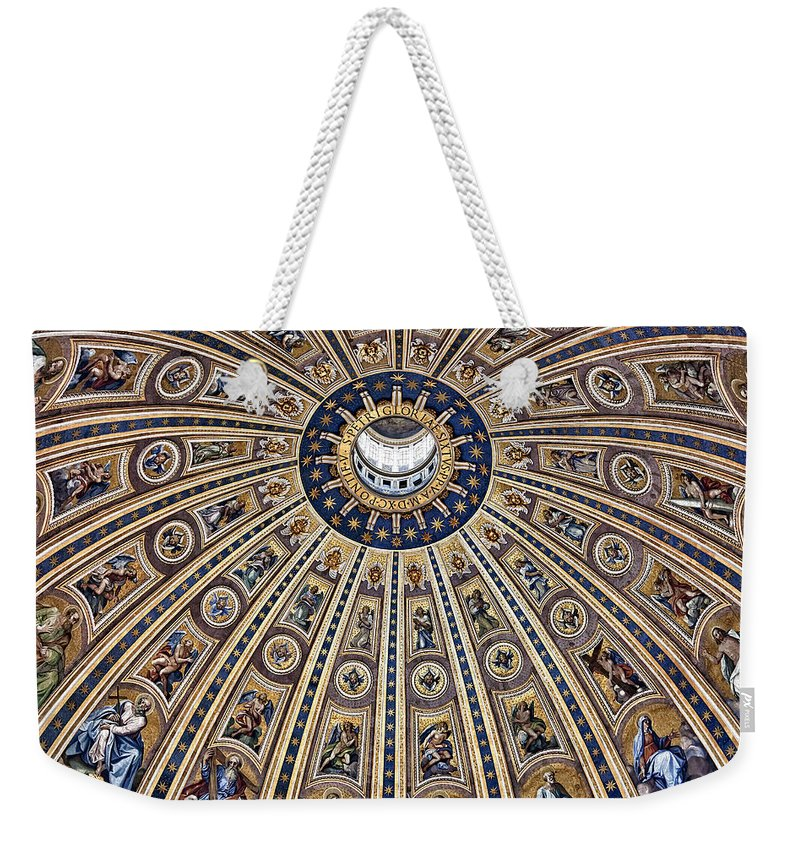 Italy Weekender Tote Bag featuring the photograph Oh Gloria by Janet Fikar