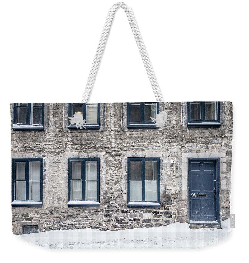 Quebec City Weekender Tote Bags