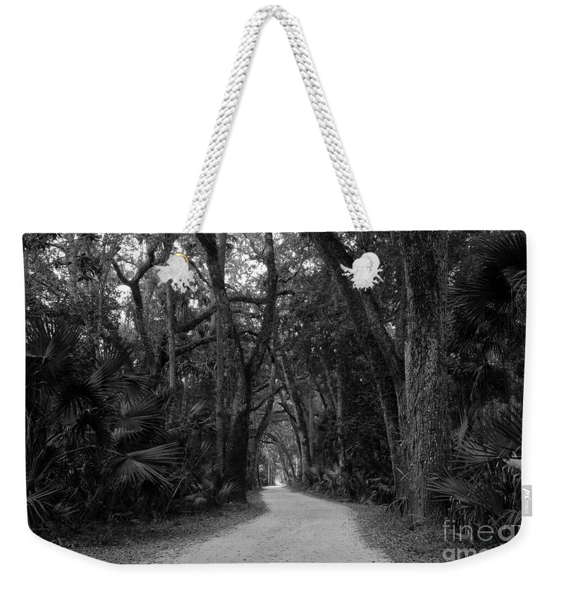 Landscape Weekender Tote Bag featuring the photograph Old Florida by David Lee Thompson