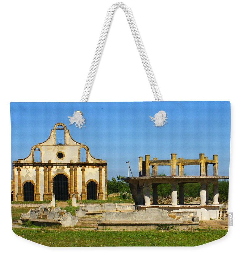 Old Guerrero Weekender Tote Bag featuring the photograph Old Guerrero Mexico by Marilyn Hunt