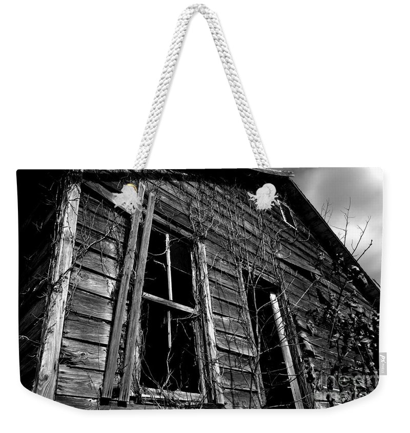 old House Weekender Tote Bag featuring the photograph Old House by Amanda Barcon