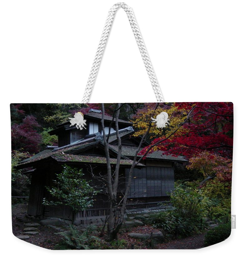Fall Weekender Tote Bag featuring the photograph Old Japan by D Turner