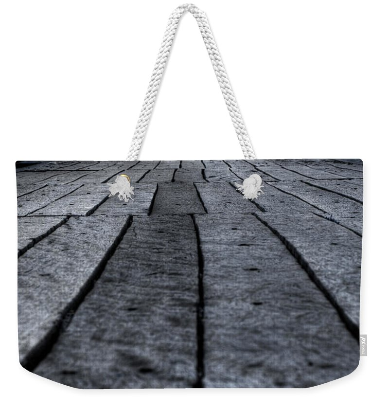Jetty Weekender Tote Bag featuring the photograph Old Jetty 2 by Kelly Jade King