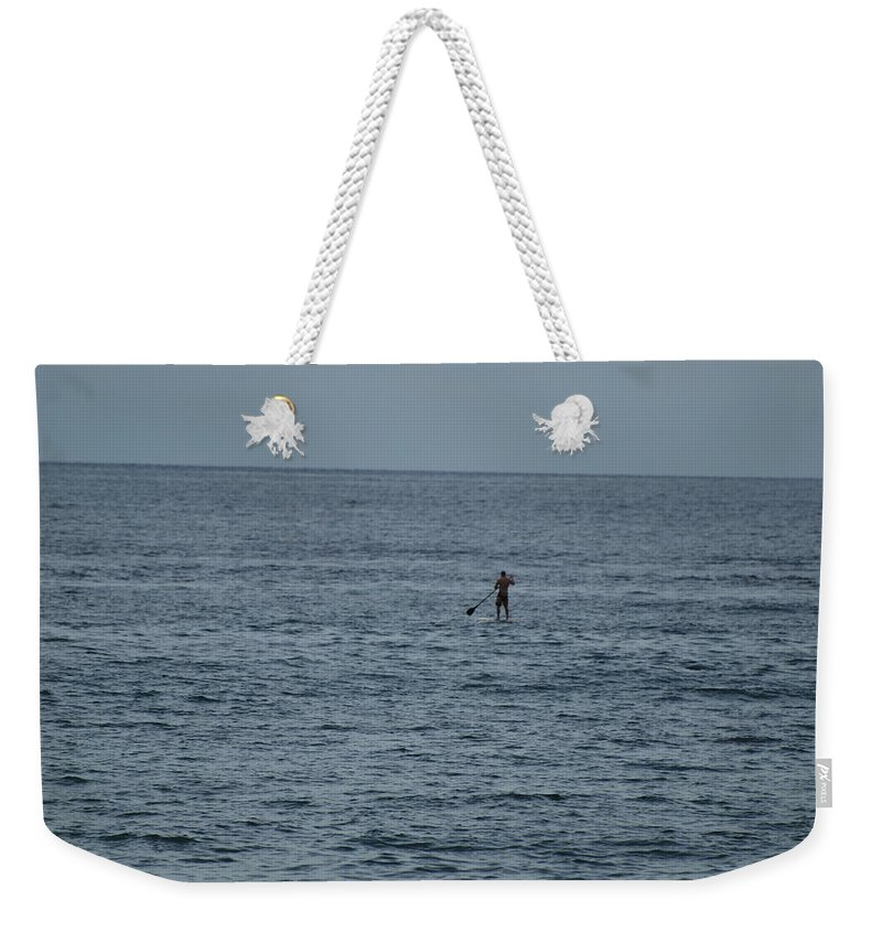 Sea Scape Weekender Tote Bag featuring the photograph Old Man In The Sea by Rob Hans