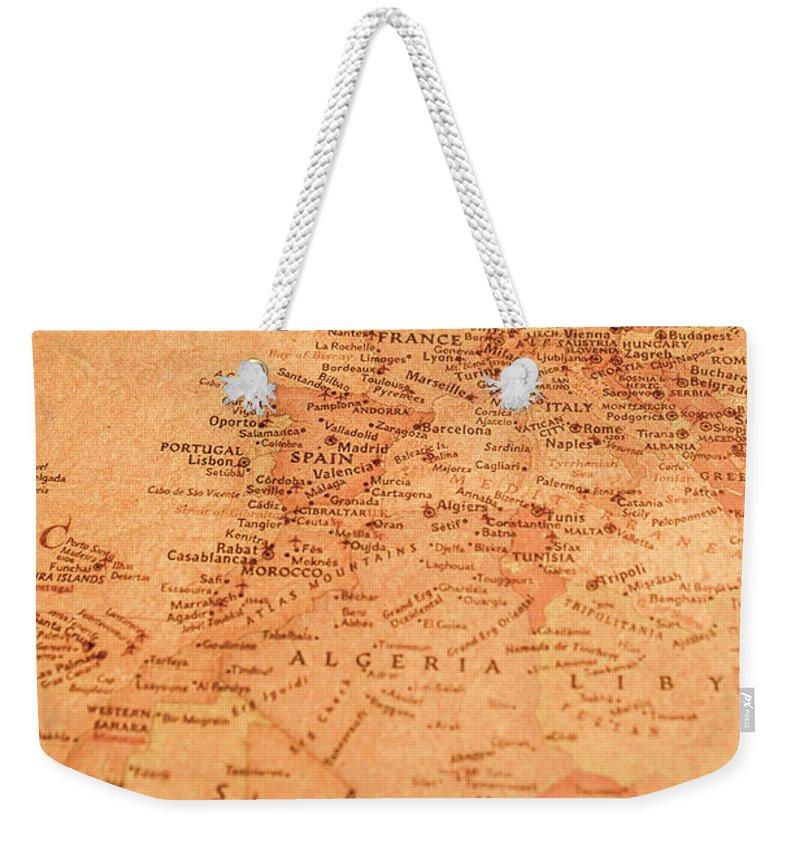 North Africa Weekender Tote Bags