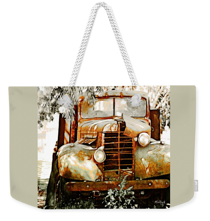 Transportation Weekender Tote Bag featuring the photograph Old Memories Never Die by Holly Kempe
