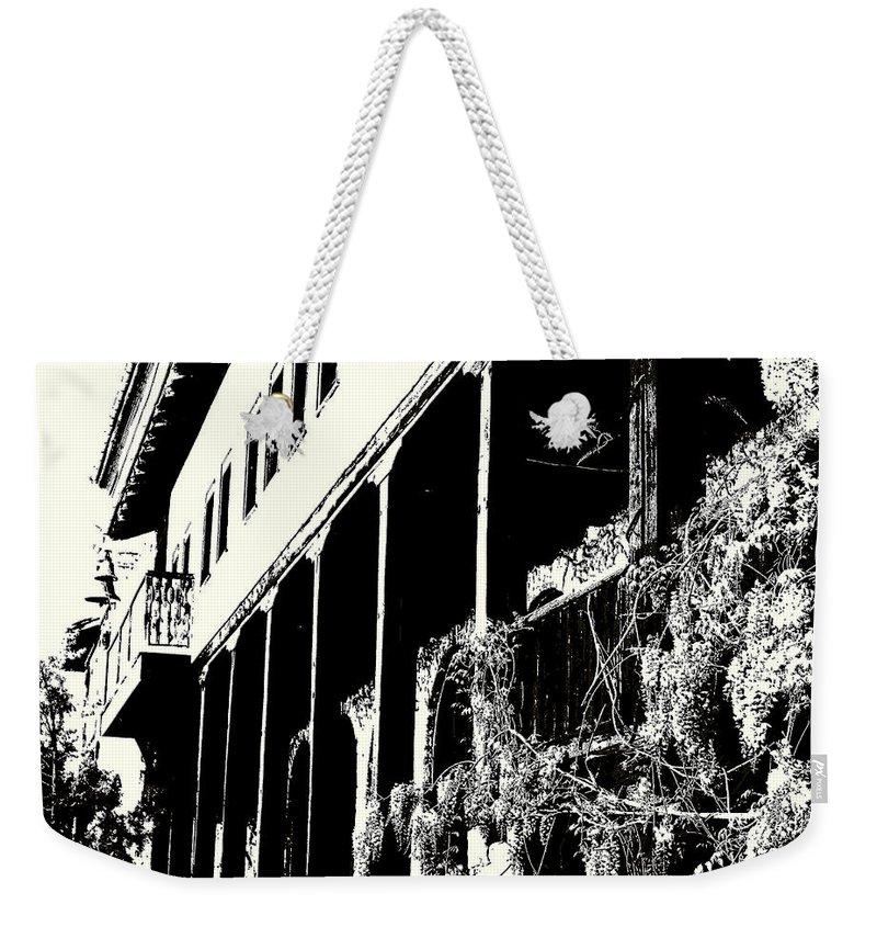 And Weekender Tote Bag featuring the photograph Old Monastery by Milena Ilieva