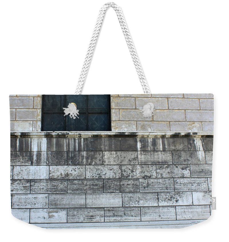 Old Weekender Tote Bag featuring the photograph Old Paint by Munir Alawi