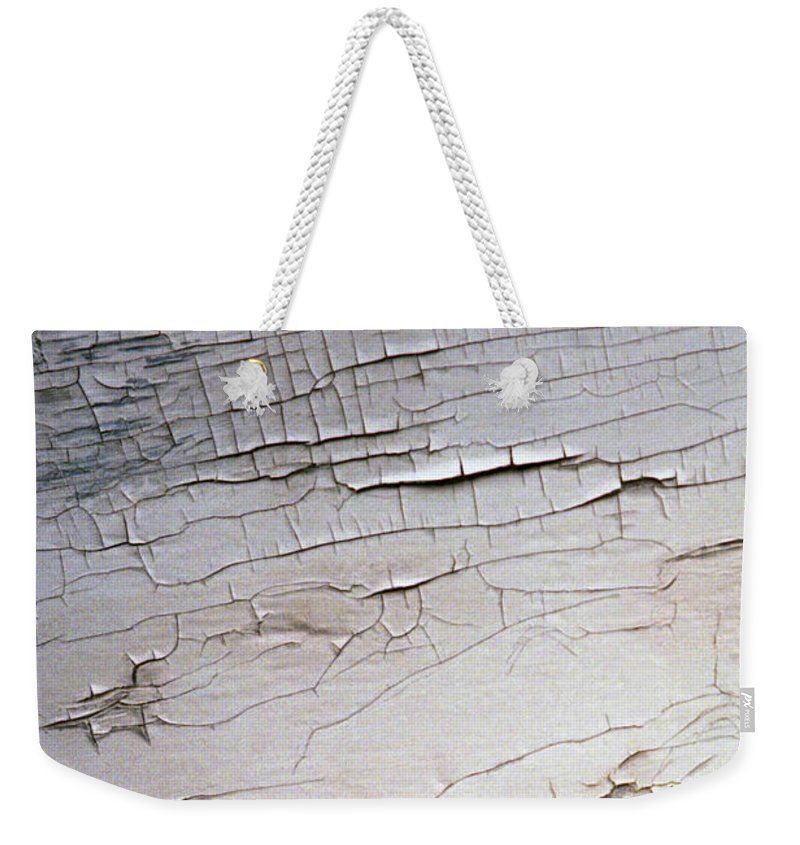 Paint Weekender Tote Bag featuring the photograph Old Siding by Richard Rizzo