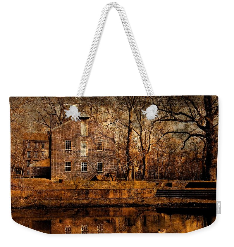 Allaire State Park Weekender Tote Bag featuring the photograph Old Village - Allaire State Park by Angie Tirado