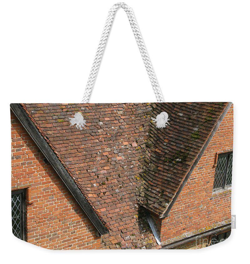 England Weekender Tote Bag featuring the photograph Olde English by Ann Horn