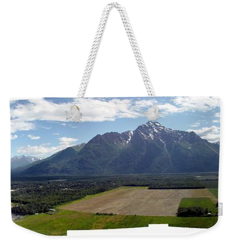 Landscape Weekender Tote Bag featuring the photograph On A Butteiful Day by Ron Bissett
