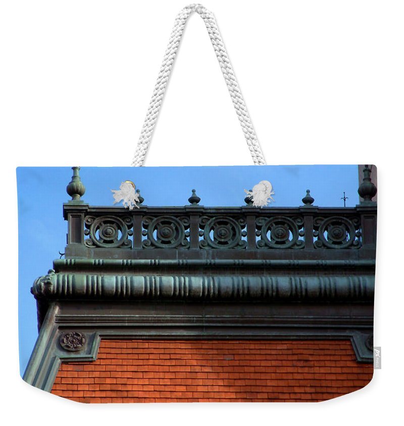 Apartment Weekender Tote Bag featuring the photograph On A Clear Day by RC DeWinter